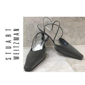 STUART WEITZMAN {9.5} Shoes Dressy SilverGrayNEW